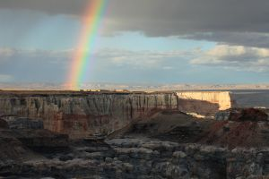 Coal Mine Canyon Rainbow