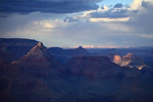 Grand-Canyon-sunset with Vermillion-Cliffs